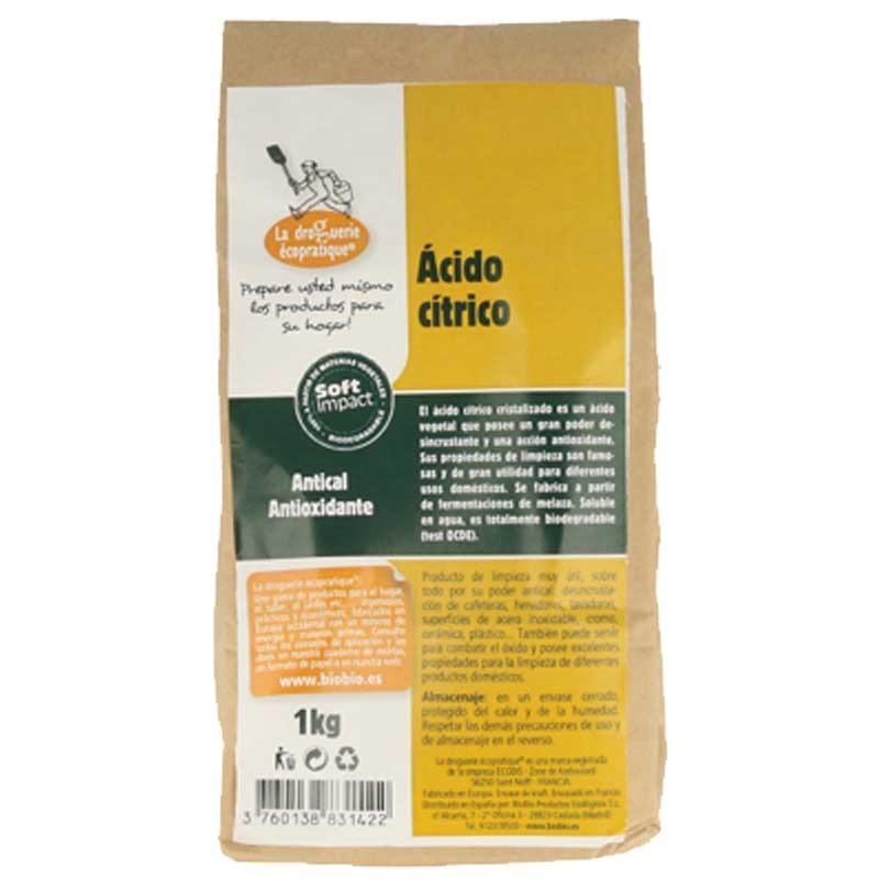 Acido Cítrico Ecológico de 1Kg.