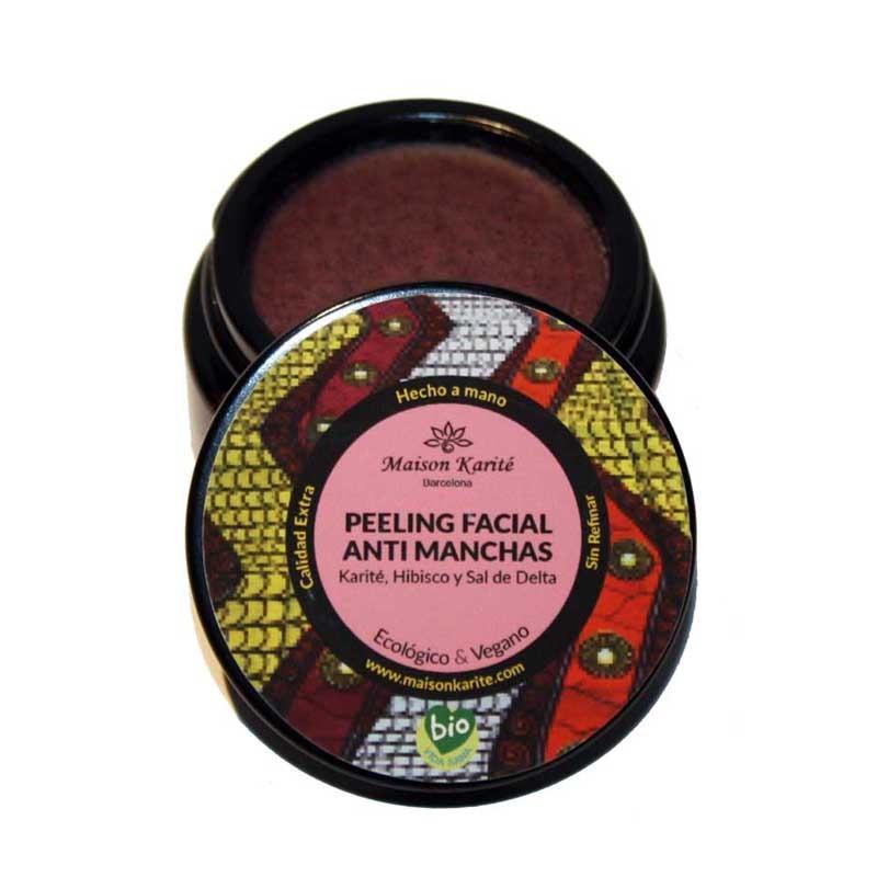 Peeling Facial Anti-Manchas de Hibisco