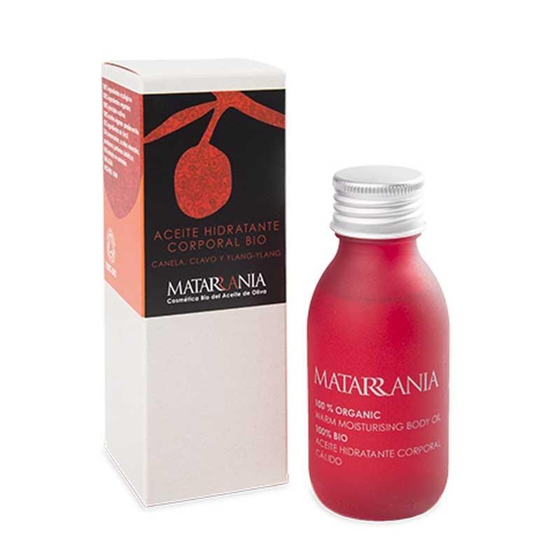 Aceite Hidratante Corporal Canela, Clavo, Ylang-Ylang 100% BIO