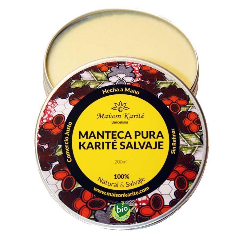 Manteca Pura de Karité Salvaje