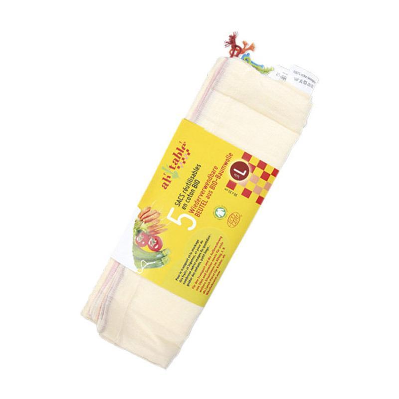 Bolsas de Algodón Ecológico Pack. 5 Unids.