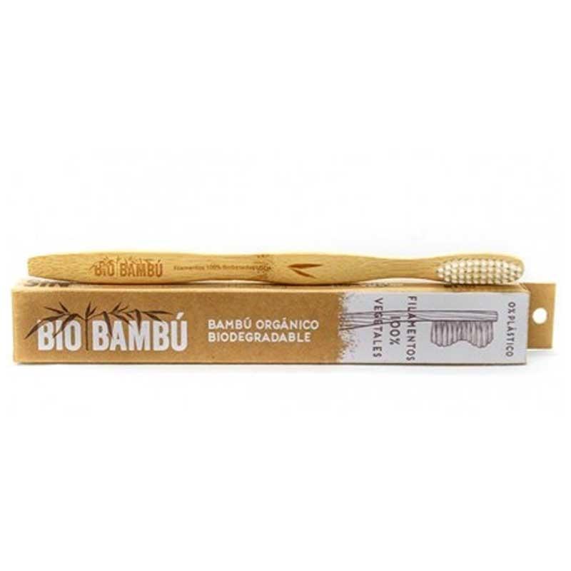 Cepillo de Dientes de Bambú Orgánico. 0% Plásticos.
