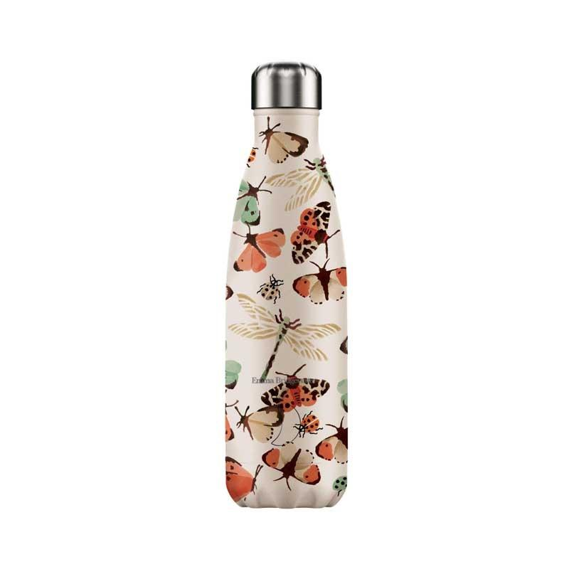 Botella de Acero Térmica Mariposas 500ml.