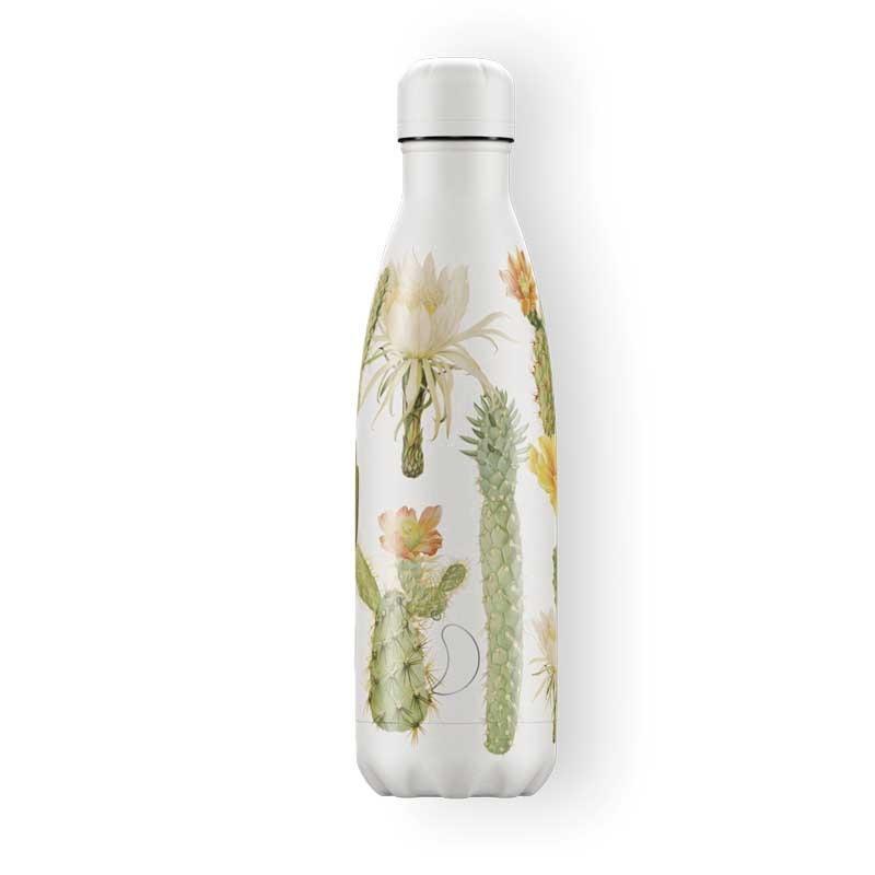 Botella de Acero Térmica Botánica Cactus 500  ml.