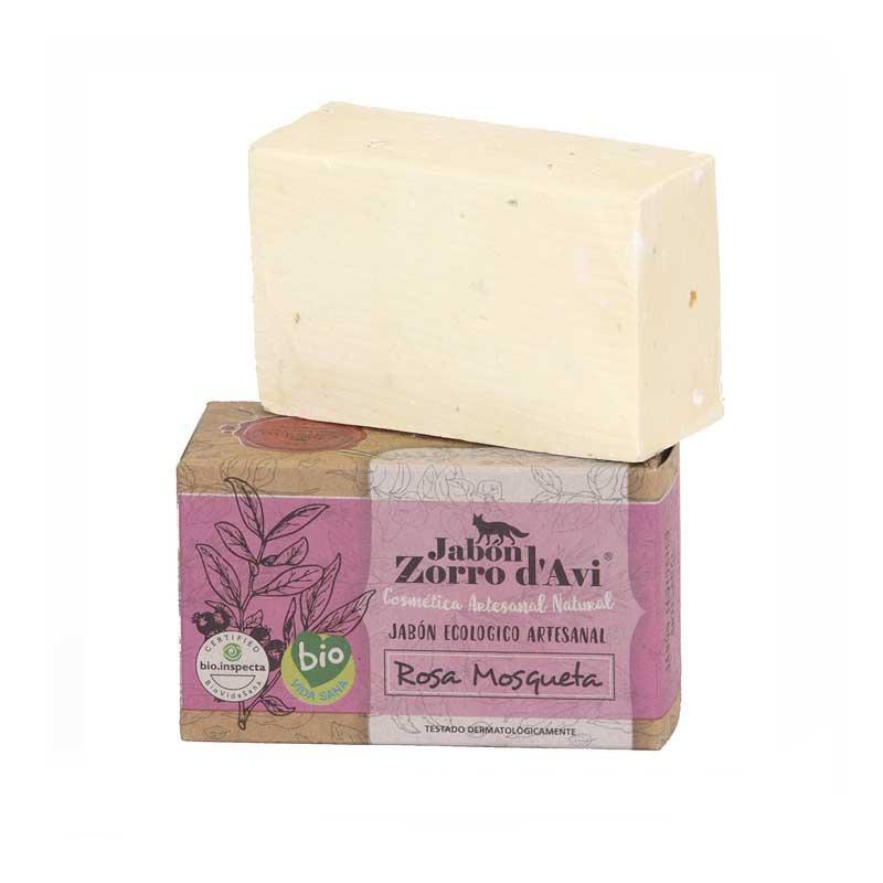 Jabón Ecológico de Rosa Mosqueta