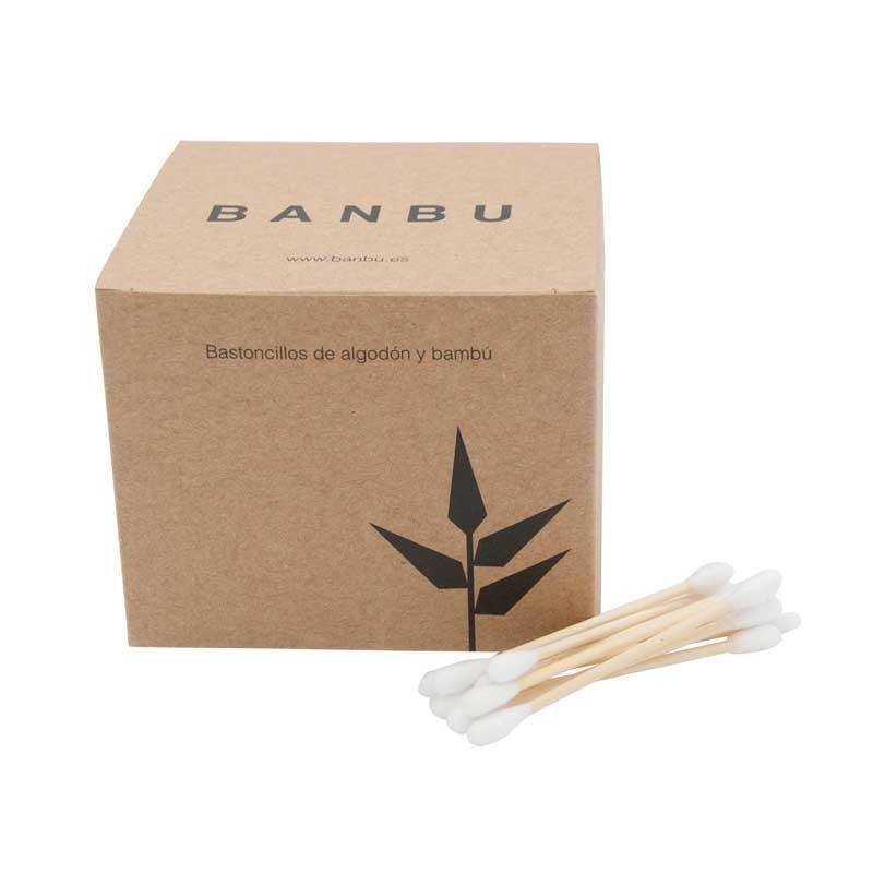 Bastoncillos de Bambu y Algodón Orgánico