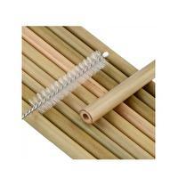 Pajita de Bambú con Limpiador