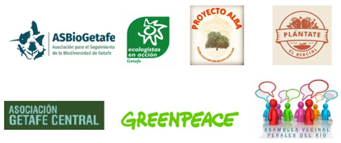 firmantes iniciativa La Mesa del Árbol de Getafe