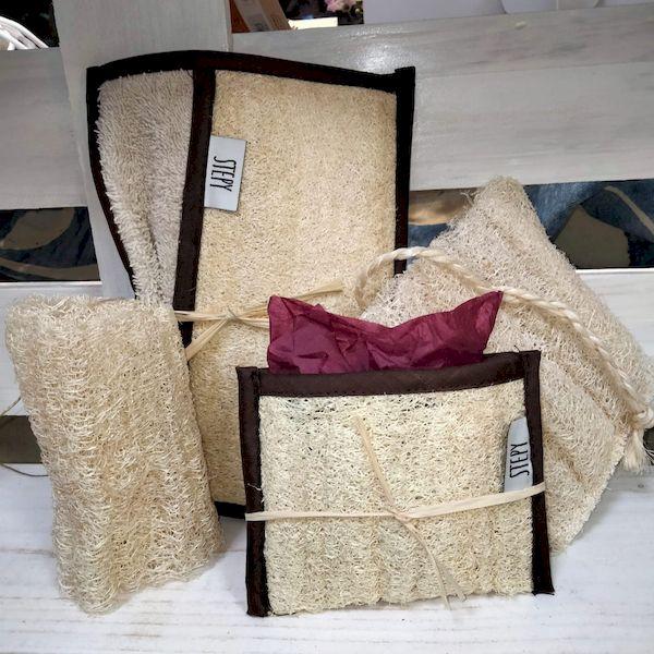 esponjas de Luffa Estropajos de Luffa Manoplas de Luffa higiene personal