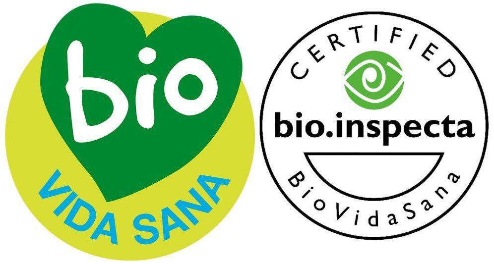 logo Certificación bio.inspecta según la Norma BioVidasana