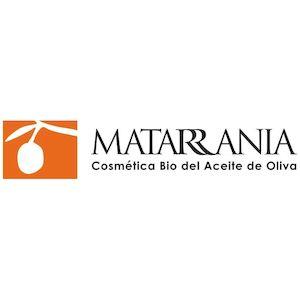 logo marca Matarrania cosmetica bio aceite de oliva natural