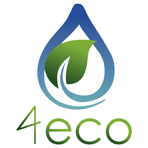 logo marca 4eco detergentes a granel y productos de limpieza